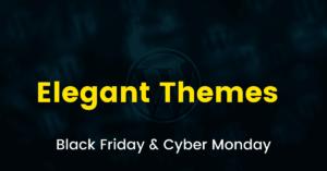Elegant Themes Black Friday