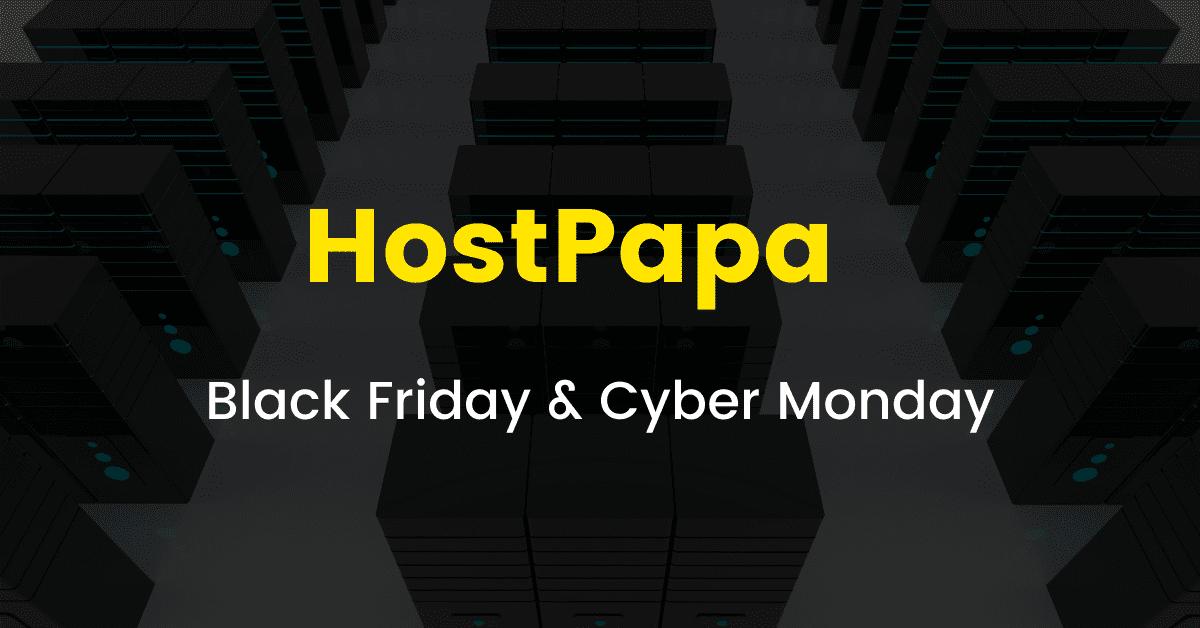 Hostpapa Black Friday