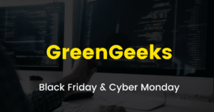GreenGeeks Black Friday