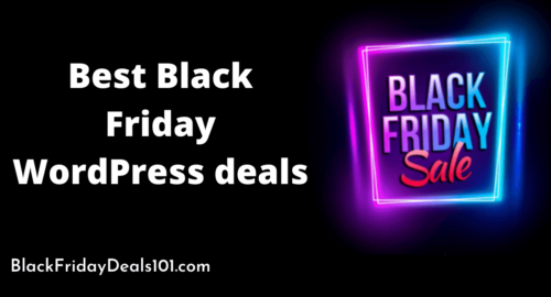 best Black Friday WordPress deals