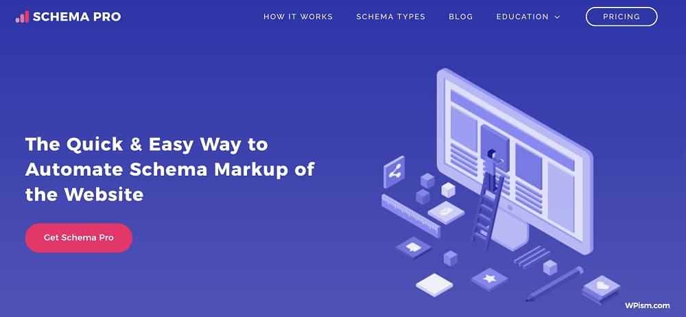 schema pro home page